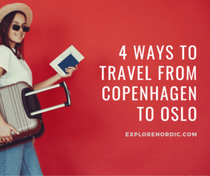 ways to travel from copenhagen to oslo