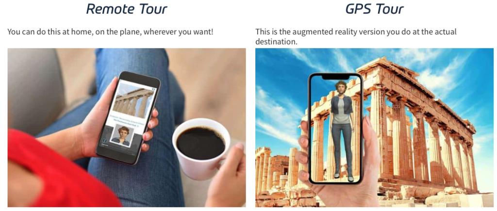 Remote tours GPS tours