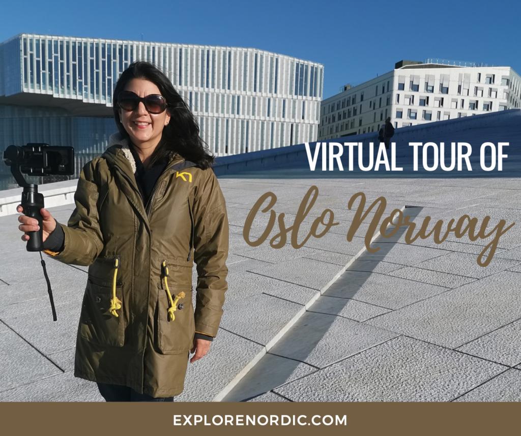 Virtual tour of Oslo