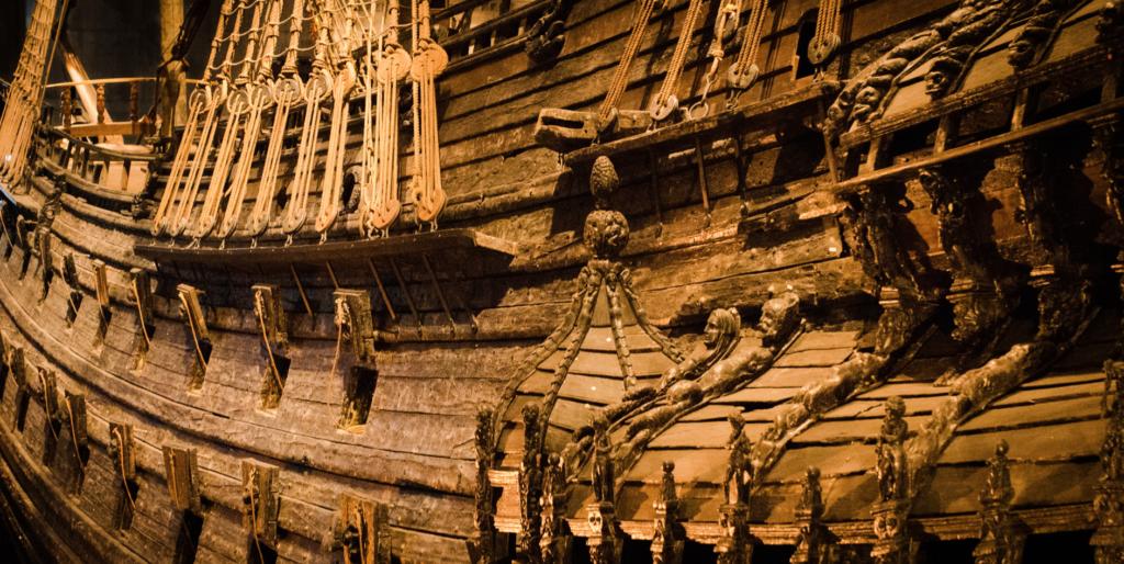 Vasa ship Stockholm